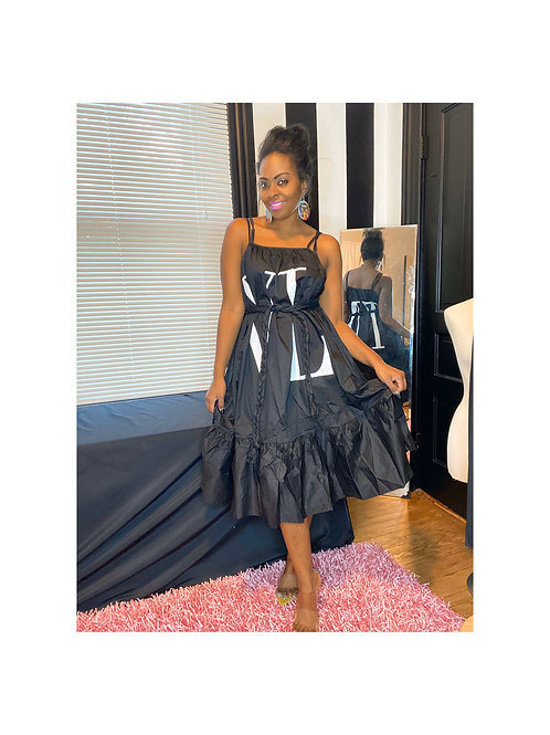 VLTN Midi Dress