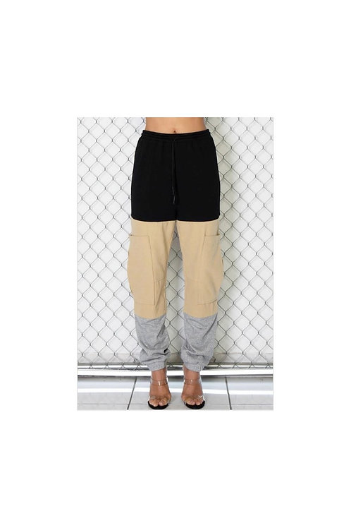 Tri Colorblock Jogger Pants
