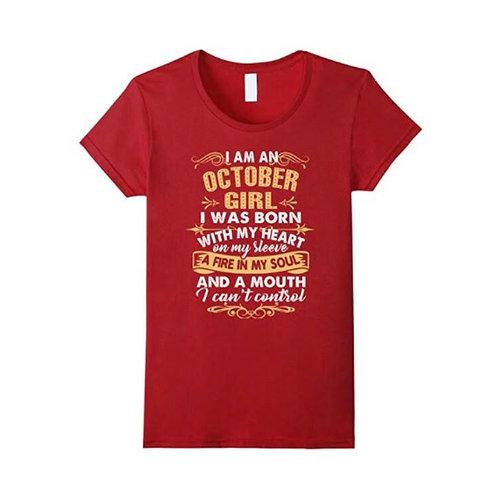 October Girl Tee
