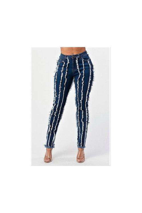 Shredded Skinny Jeans