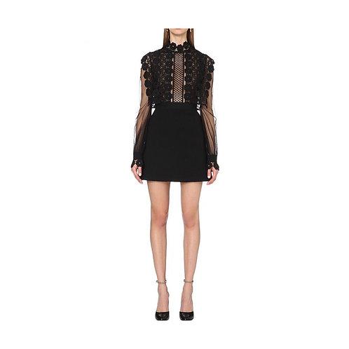 Designer Crochet Flower Lace Dress