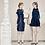 Thumbnail: Designer Sleevless Ruffle Party Dress
