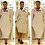 Thumbnail: Ribbed Midi Tank Dress w/Oversized Kimono Style Duster Two Piece Set