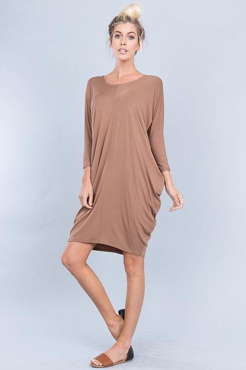 Dolman Tunic Dress