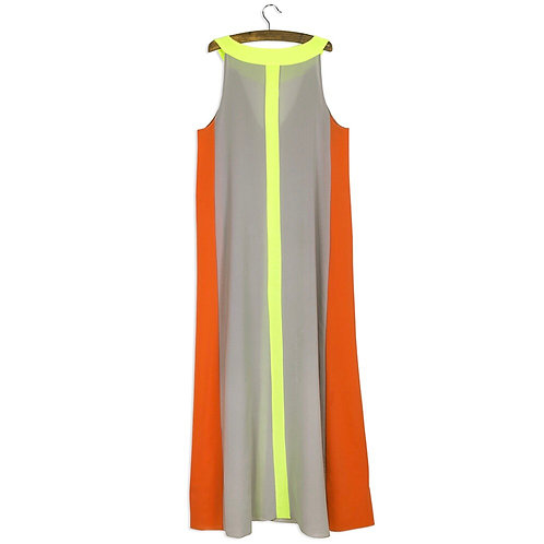 Multi Color Beach Maxi Dress
