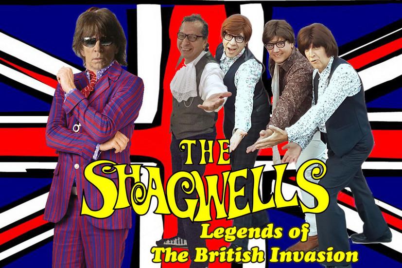The Shagwells, Legends of The British Invasion