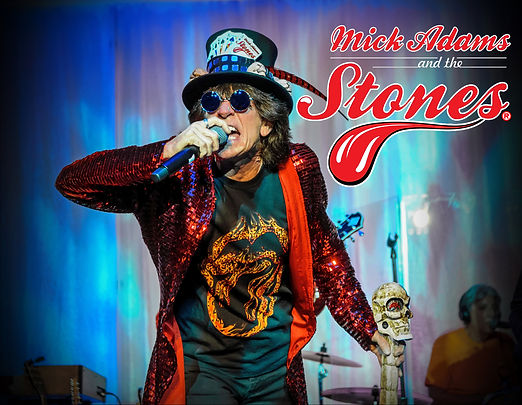 Micks Adams and The Stones