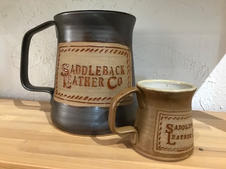 Saddleback Leather Co. pottery mug