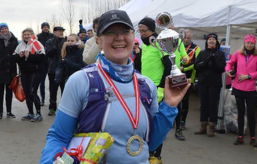 Louise løbesmølf marathon nr. 100
