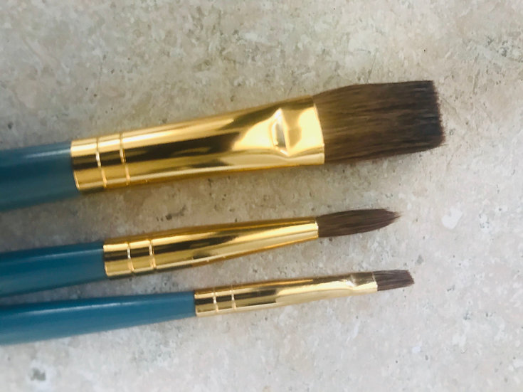 Brush set (Optional) or Use your own