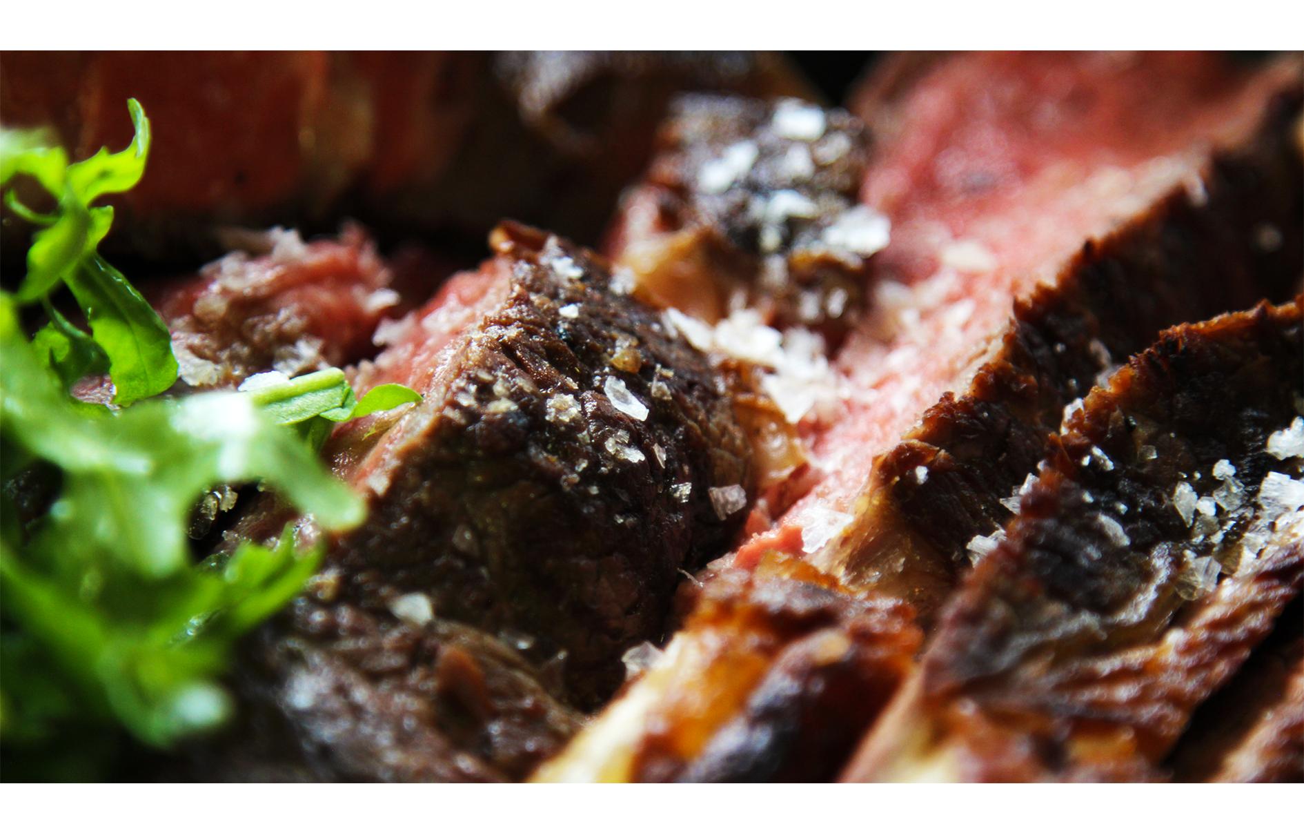Steak close up