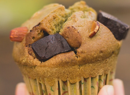 Muffins de chocolate con Cannabis