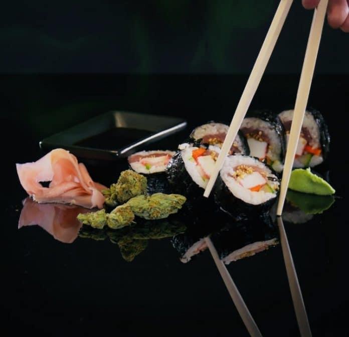 sushi con cannabis cbdmex.com