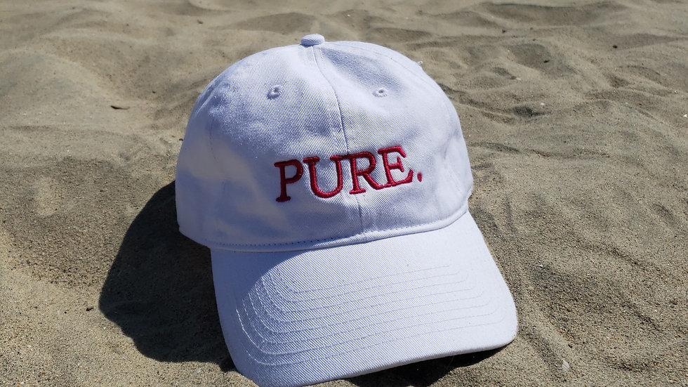 Hot Pink/White Dad Hat