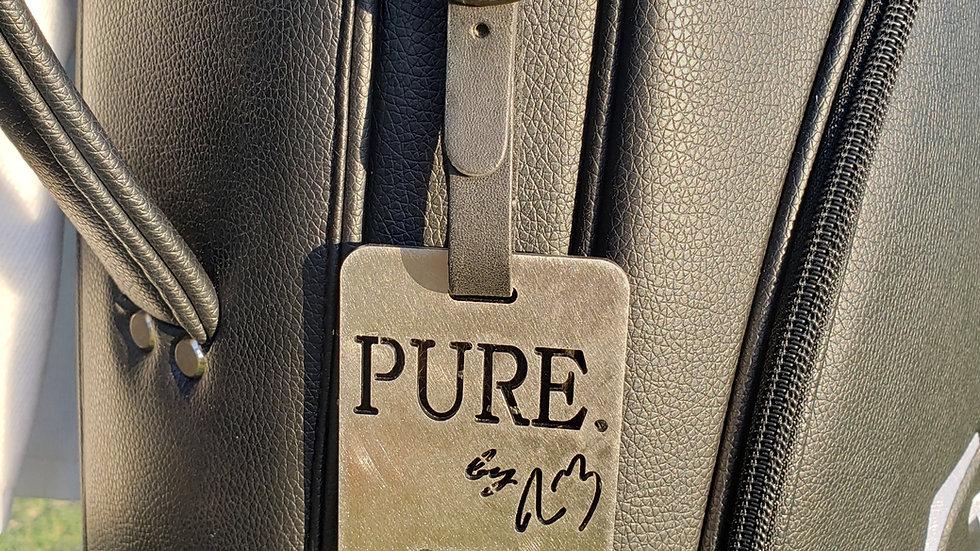 PURE. Bottle Opener/Bag Tag