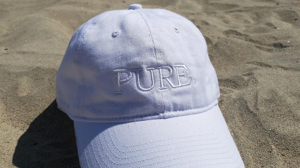 White/White Dad Hat