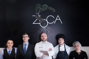 Equipo de Zoca restaurante