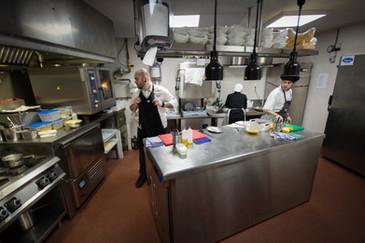 Cocinas del restaurante Zoca