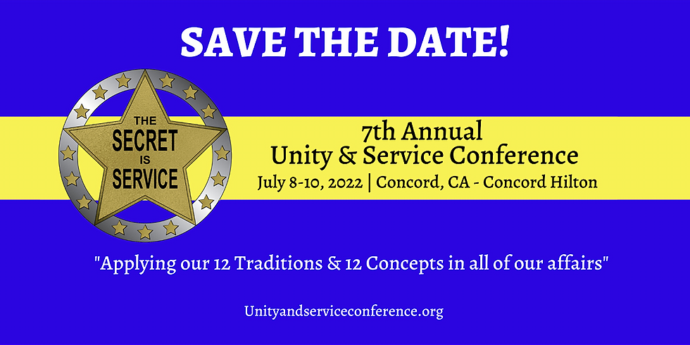 7th Annual Unity & Service Conference RSVP