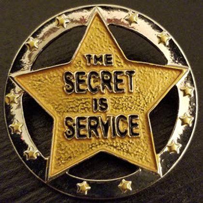 Secret is Service Pin