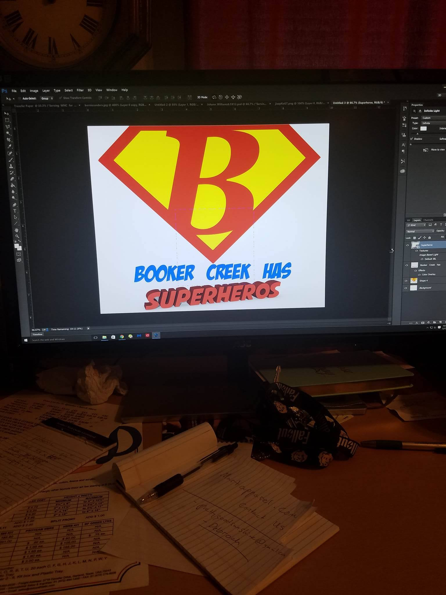 Brooker Creek Elementary Screen Print _ Design