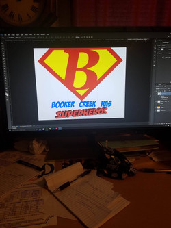 Brooker Creek Elementary Screen Print _ Design
