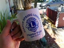 Tarpon Springs Lion Sublimation Mug