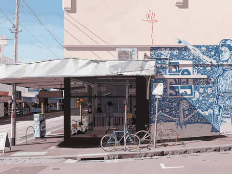 Master Painter Willam Breen's Latest Works On Show At Flinders Lane Gallery