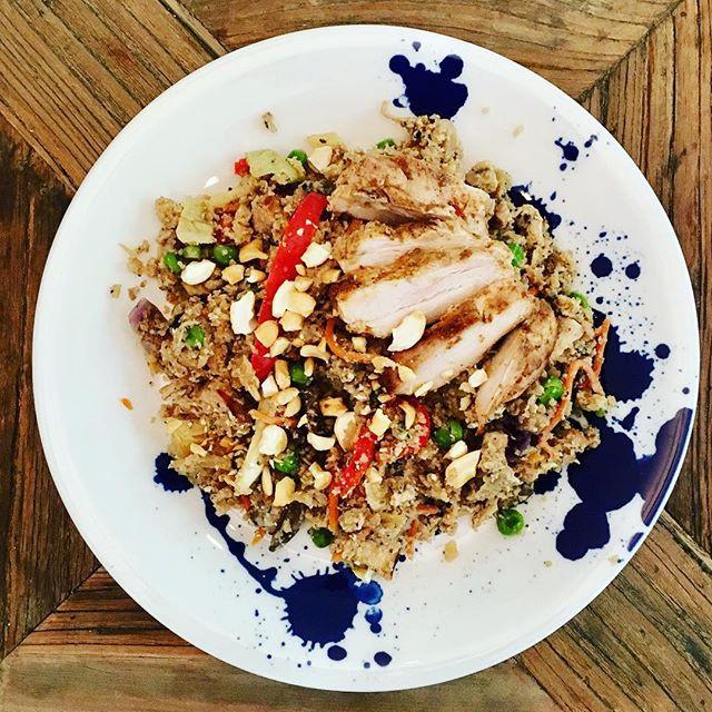 Cauli-Rice Stir Fry
