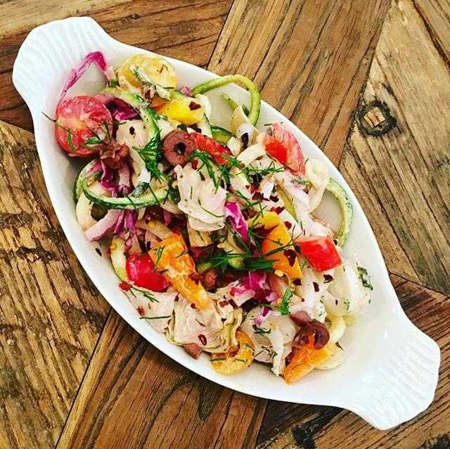 Tzatziki Veggie Salad