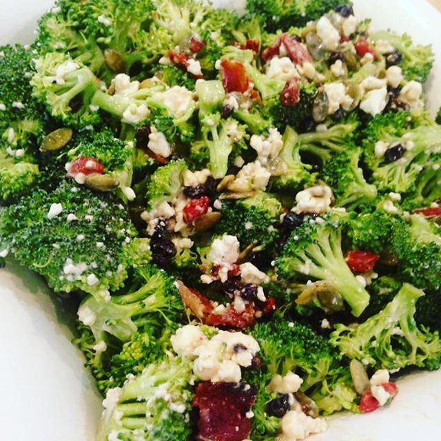 Tart & Tangy Broccoli Salad