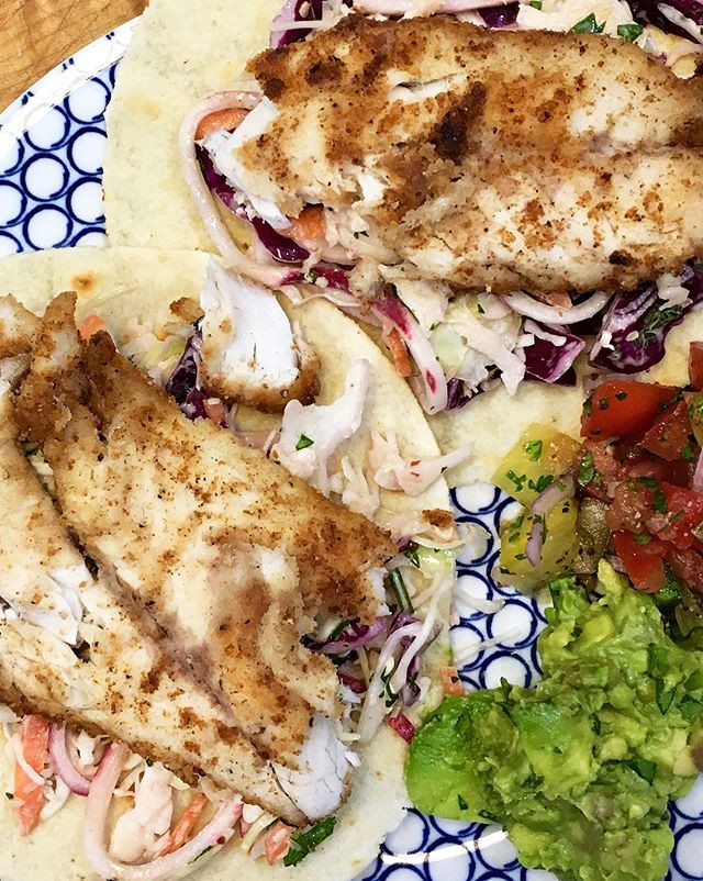Chipotle Fish Tacos - Paleo
