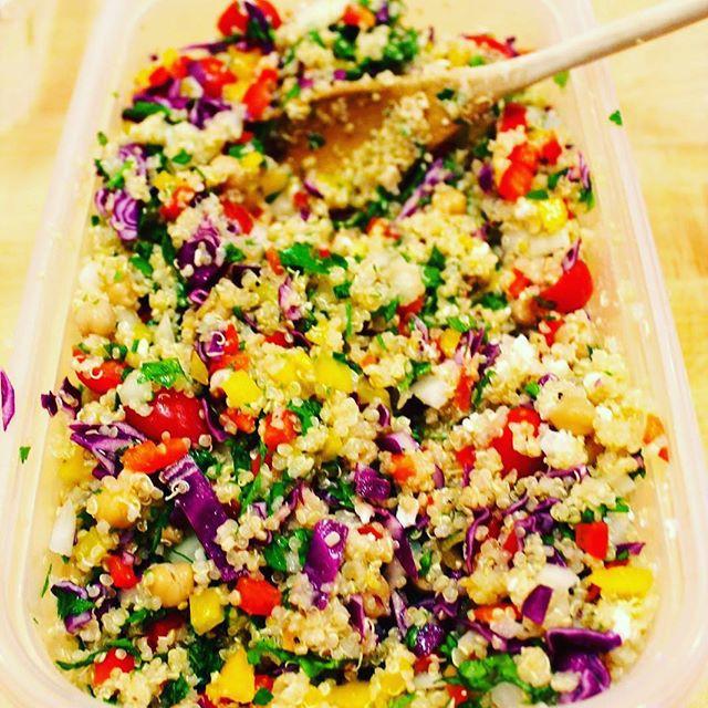 Krazy Colorful Quinoa