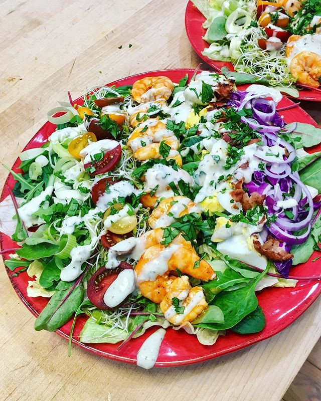 Buffalo Shrimp Salad - Whole 30
