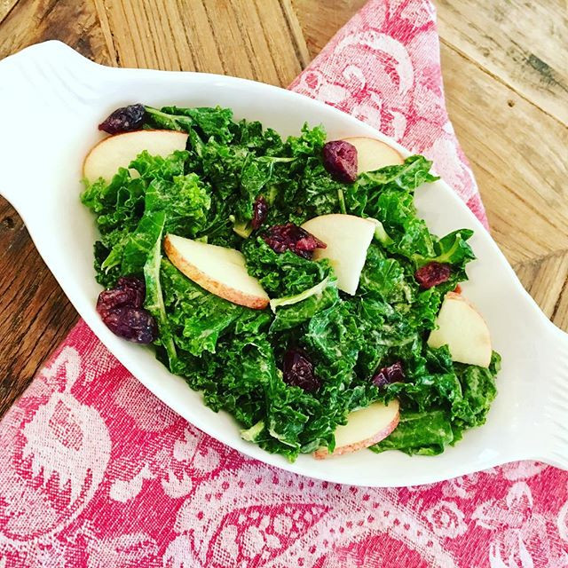 Kale Salad with 2 Twists