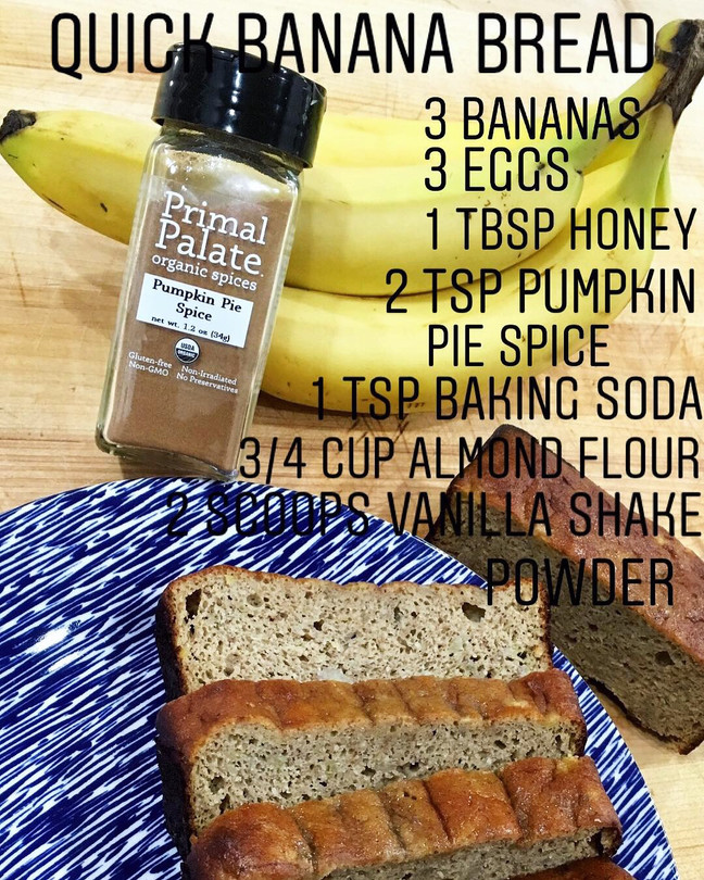 Banana Bread - Gluten Free