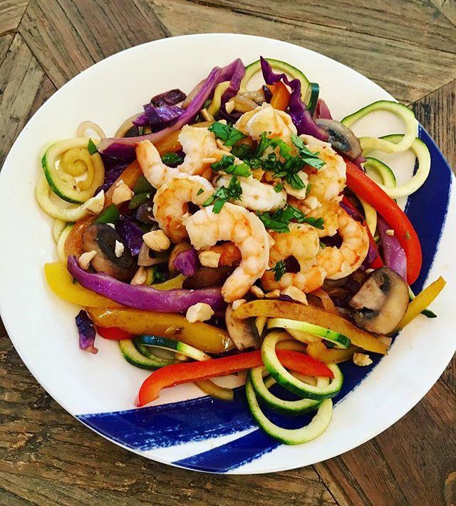 Shrimp & Veggie Noodles