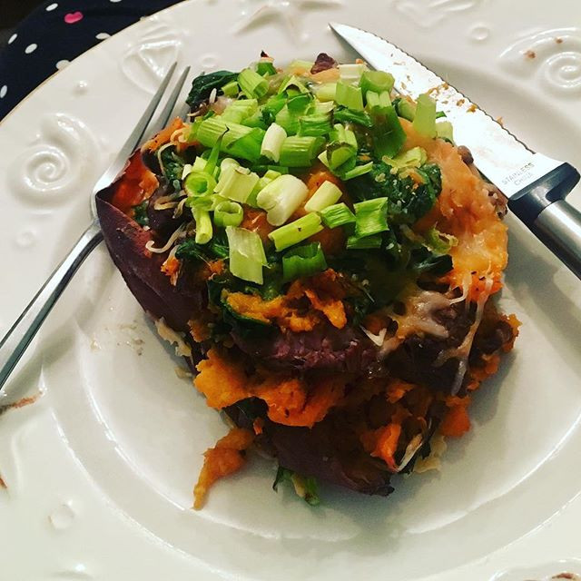 SuperSpud - Stuffed Sweet Potatoes