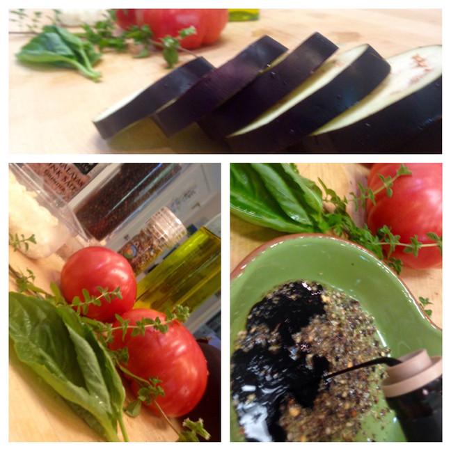Eggplant Stackers
