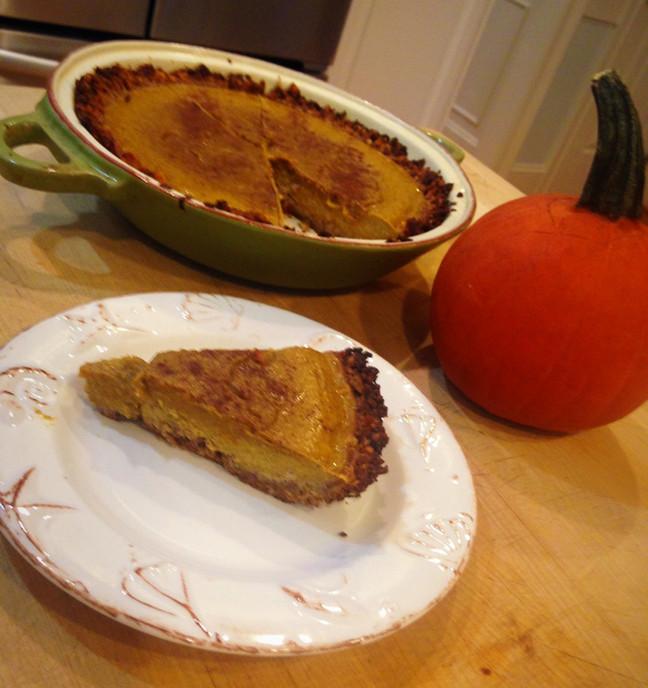 Pumpkin Pie - Paleo