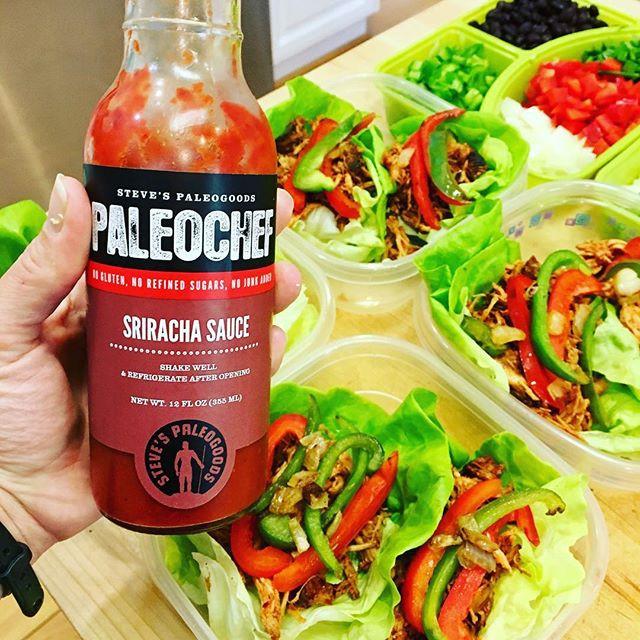 Sriracha Chicken Wraps