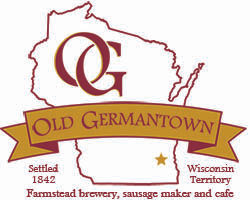 Old Germantown logo with Farmstead Brewe
