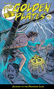 The Golden Plates #3 Comic Book, Journey to the Promised Land, Michael Allred