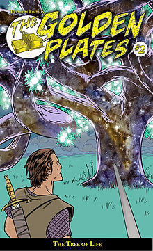 The Golden Plates #2 Comic Book, The Tree of Life, Michael Allred