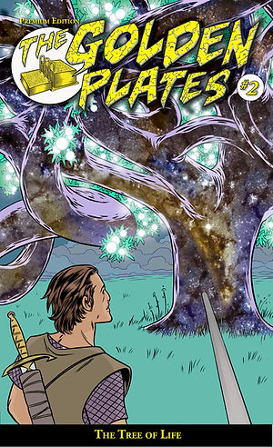 The Golden Plates #2: Premium Edition, The Tree of Life, Michael Allred