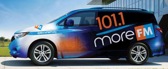 101.1 More FM Van