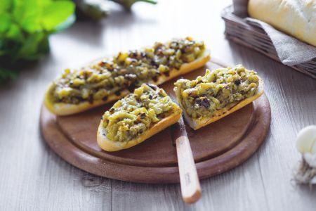 Barchette di melanzane alla griglia
