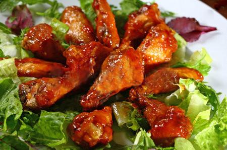 Cosciotti di pollo con salsa BBQ