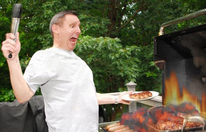 barbecue in sicurezza