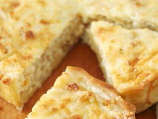 Quiche di cipolla e formaggio